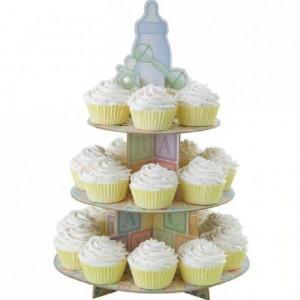 Présentoir cupcakes 3 étages Wilton Baby Feet