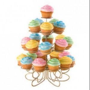 Wilton Mini Cupcakes n more stand 24 cupcakes