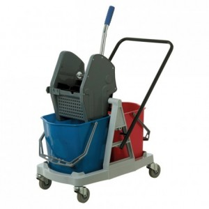 Replacement press for washing trolley