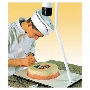 Projector for cake decoration 230 V+CD