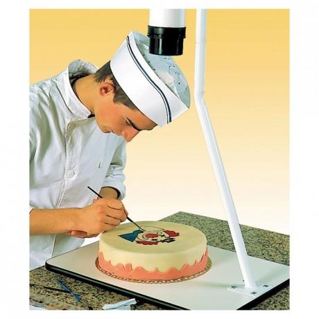 Projector for cake decoration 230 V+CD