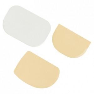 Racloir coupe pâte en plastique 113 x 75 mm (A)
