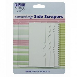 PME Pattern Edge Side Scraper Set/4