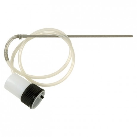 Suction feed extension for electrical spray guns