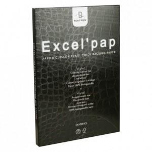 Rame de 500 papiers siliconés Excel'pap 600 x 400 mm