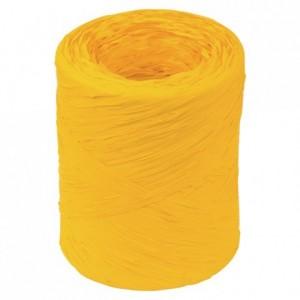 Raphia jaune d'oeuf 200 m