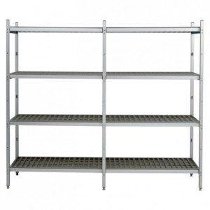 Basic kit for shelving 1015 x 425 x 1730 mm