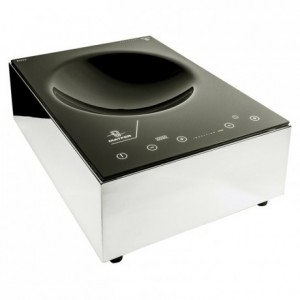 Réchaud wok à induction Matfer 3,5 kW