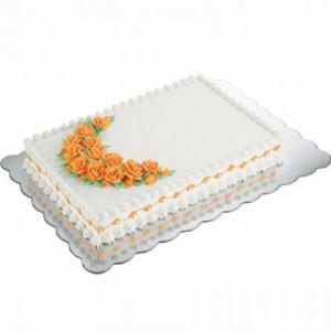 Rectangles à gâteau Wilton argent 32,5 x 47,5 cm 4 pièces