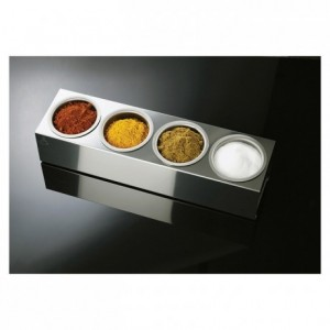 Roll'Box inox 4 bols