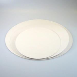 Ronds à gâteau blanc 28 cm 5 pièces
