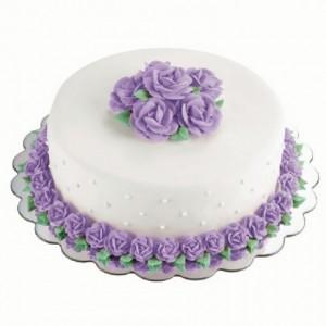 Ronds à gâteau Wilton carton argent 35 cm 6 pièces