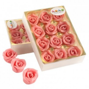 FunCakes Marzipan 12 Roses Pink