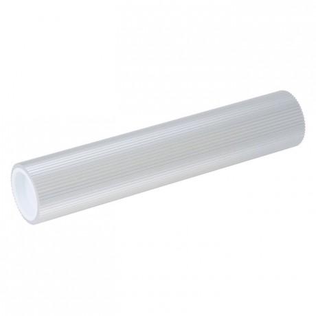 Wavy effect rolling pin anodized aluminium L 241 mm Ø 47 mm