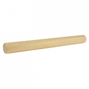 Wooden rolling pin beechwood L 420 mm Ø 45 mm