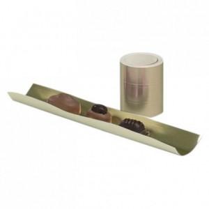 Rouleau intercalaire or 100 m pour séparation de boites (lot de 1)