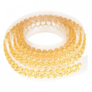 Ruban de strass 90 cm jaune doré