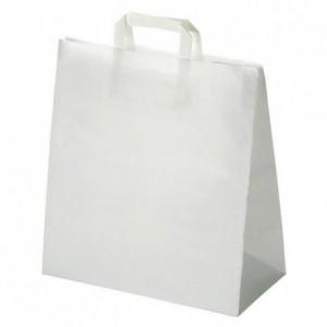 Sac cabas papier blanc H 350 mm (lot de 250)