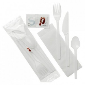 Cutlery packed 6 in 1 (250 pcs)