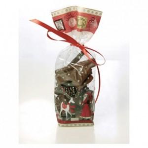 Sachet Père Noël 220 x 100 mm (lot de 100)
