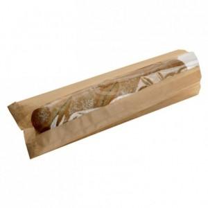 Sachet sandwich papier kraft avec fenêtre L 310 mm (lot de 1000)