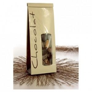 Sachet SOS chocolat vanille 250 g (lot de 50)