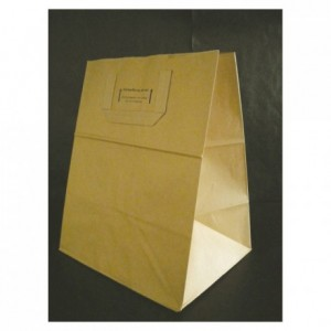 Brown kraft paper bag 320 x 260 mm (250 pcs)