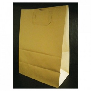Brown kraft paper bag 430 x 300 mm (250 pcs)