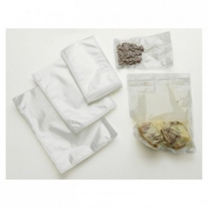 Embossed vaccum sealer bag 200 x 300 mm (pack of 100)