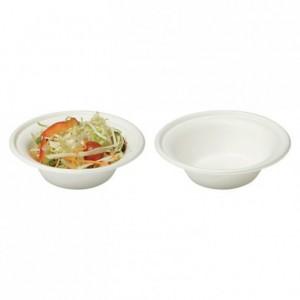 Fibre flared salad bowl 40cL (400 pcs)