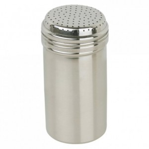 Sugar shaker in stainless steel 40 cl