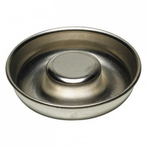 Savarin mould open tube tin Ø240 mm (pack of 3)