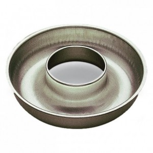 Deep savarin mould open tube tin Ø220 mm (pack of 3)