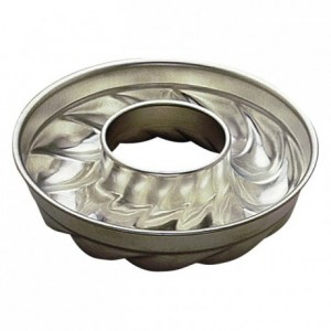 Savarin Trois Freres mould open tube tin Ø220 mm (pack of 3)