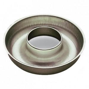 Savarin profond débouché fer blanc Ø260 mm (lot de 3)