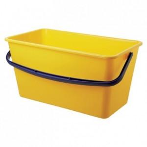 Wide plastic bucket 13 L