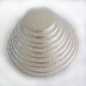 Semelle à gâteau FunCakes argentée ronde Ø35 cm