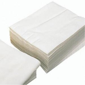 Serviette blanche 1 pli 30 x 30 mm (lot de 4000)