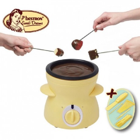 Service Fondue Chocolat Bestron tempéreuse