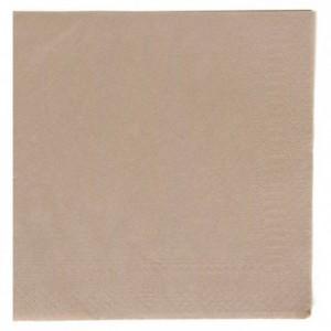 Serviette celi-ouate taupe 38 x 38 cm (lot de 900)