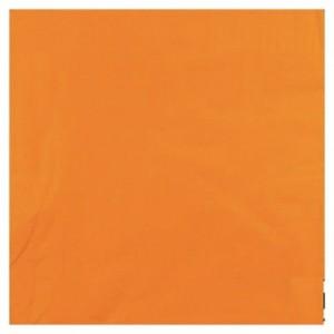 Serviette ouate mandarine 2 plis 33 x 33 cm (lot de 1200)
