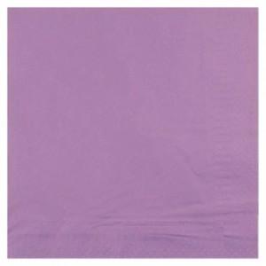 Serviette ouate lavande 2 plis 33 x 33 cm (lot de 1200)