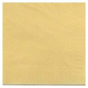 Serviette ouate ivoire 2 plis 33 x 33 cm (lot de 1200)