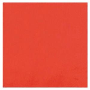 Serviette R'Soft rouge 40 x 40 cm (lot de 50)