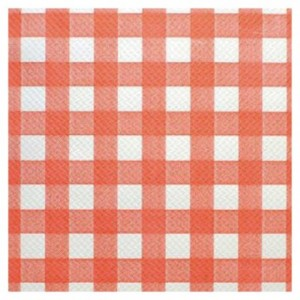Place mat red and white 400 x 300 mm (500 pcs)