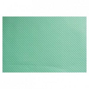 Place mat light green 400 x 300 mm (500 pcs)