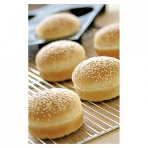 Silform 600 x 400 15 little breads Ø 102 mm H 20 mm