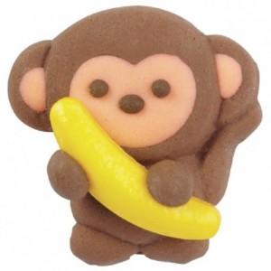 Singe avec banane Wilton 12 pièces
