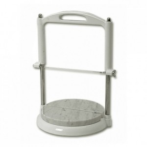 Marble-topped round base for roquefort slicer  Ø 220 mm