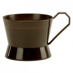 Socle «B.Cup» marron (lot de 50)